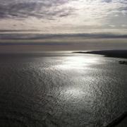 Grenaa kyst mod syd.