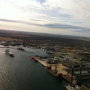 Udsigt over havnen.