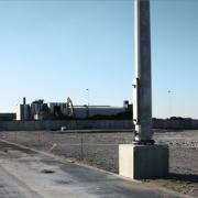 Havnearealet hvor bioraffinaderiet skal bygges